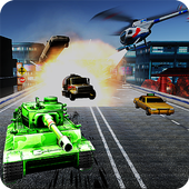 Tank Mad Race Shooting icon