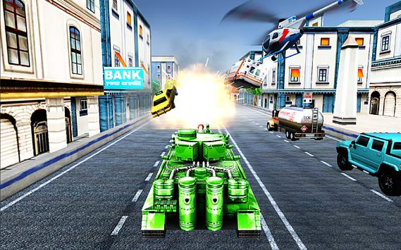 Tank Mad Race Shooting poster