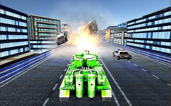 Tank Mad Race Shooting apk screenshot