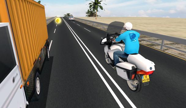 Highway Speed Bike Racing screenshot 5