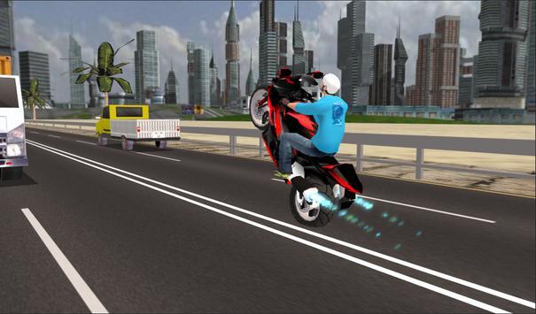 Highway Speed Bike Racing poster