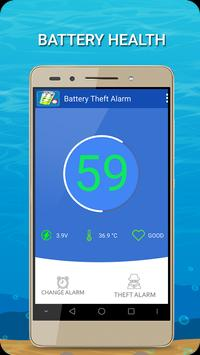 Full battery & unplug charger alarm – Anti Robber Affiche