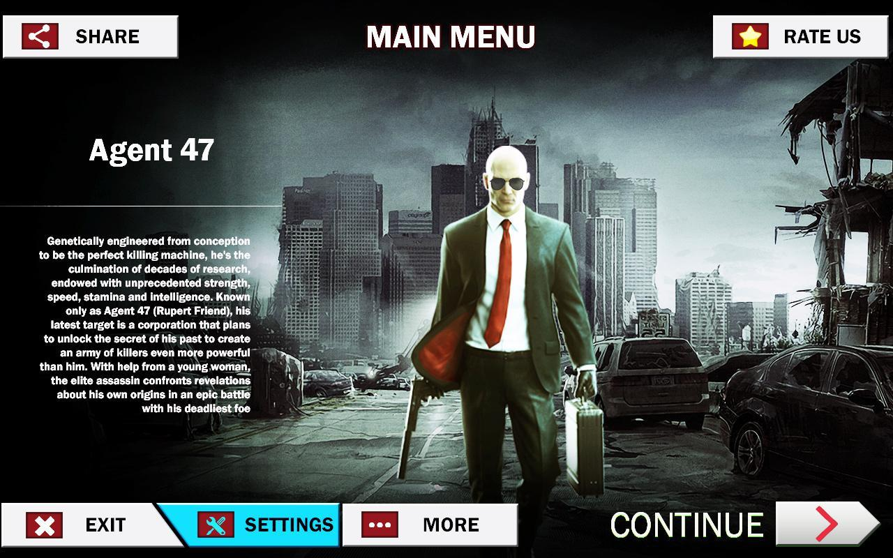 Hitman 2018 Agent 47 For Android Apk Download