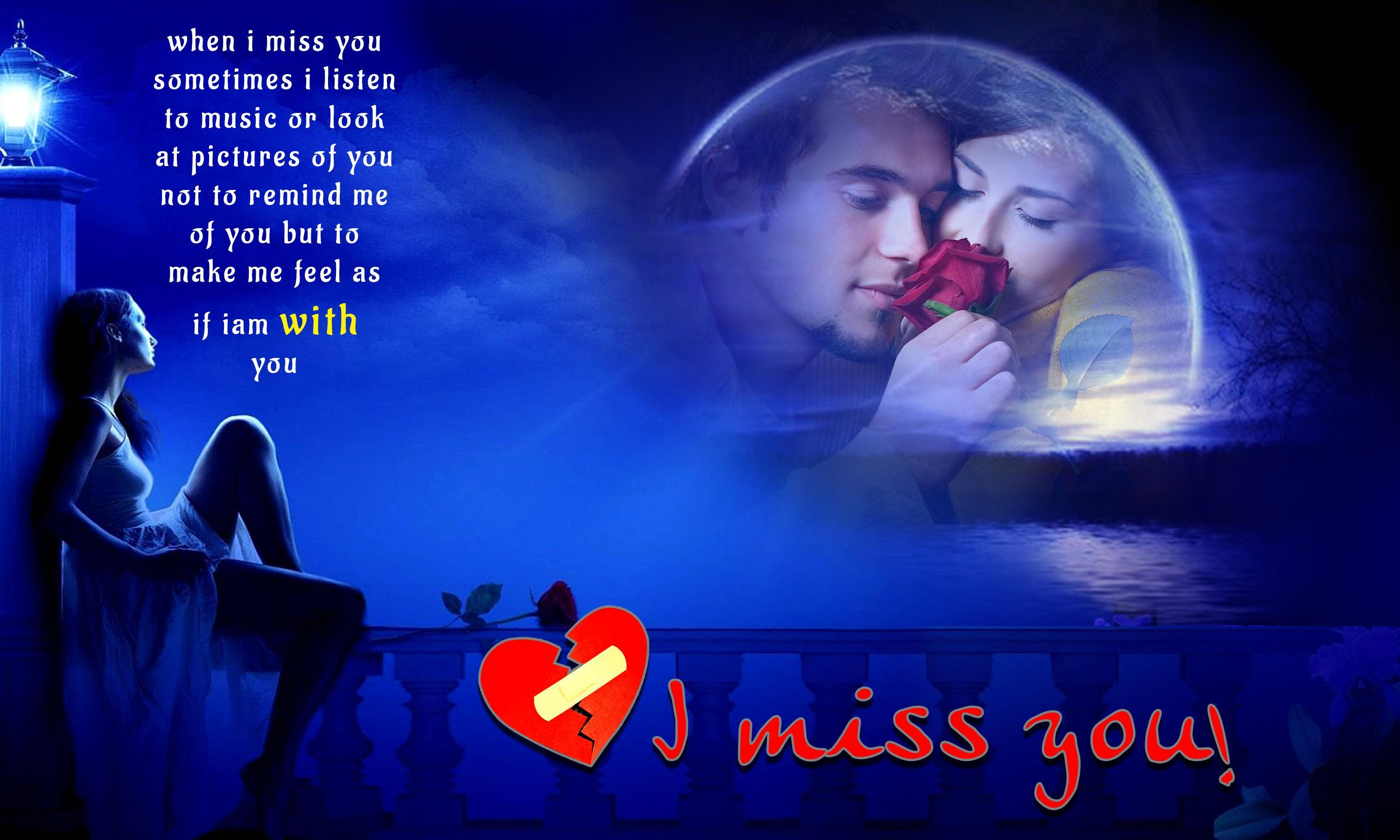 Miss You Photo Frames new hd for Android - APK Download
