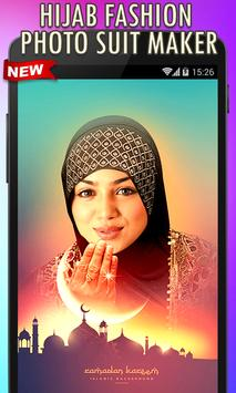 Hijab Fashion Photo Suit Maker poster