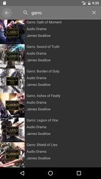 Black Library Audio screenshot 3