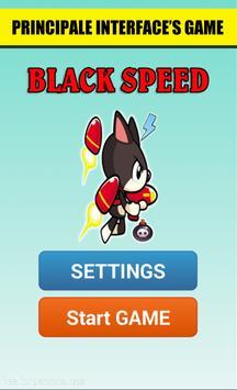 Black Speeder Jump poster