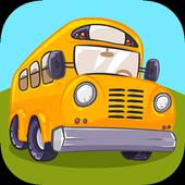 School Bus Trip - Funny Road icon