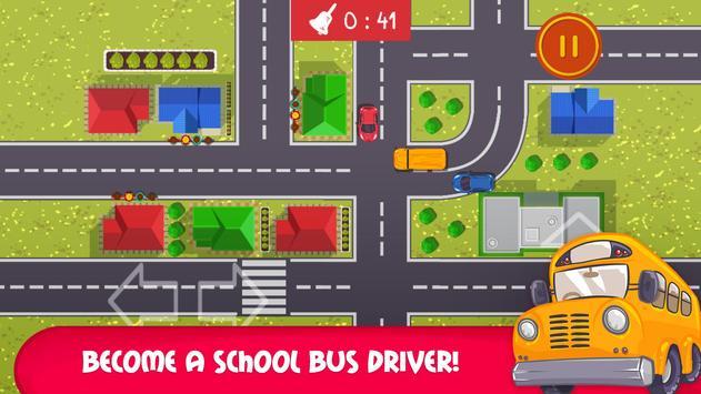 School Bus Trip - Funny Road poster