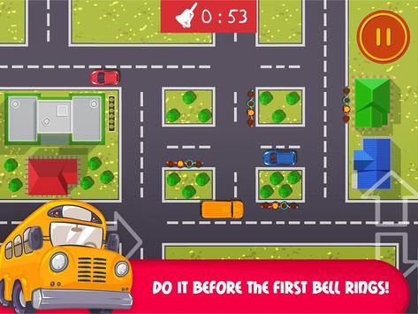School Bus Trip - Funny Road apk screenshot