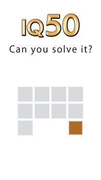 頭が良くなる 一筆書き パズルゲーム Fill ポスター