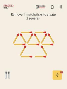 MATCHSTICK - matchstick puzzle game screenshot 6