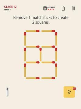 MATCHSTICK - matchstick puzzle game screenshot 8