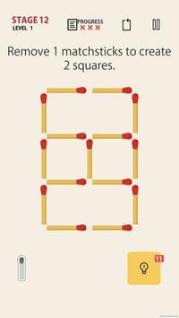 MATCHSTICK - matchstick puzzle game screenshot 3