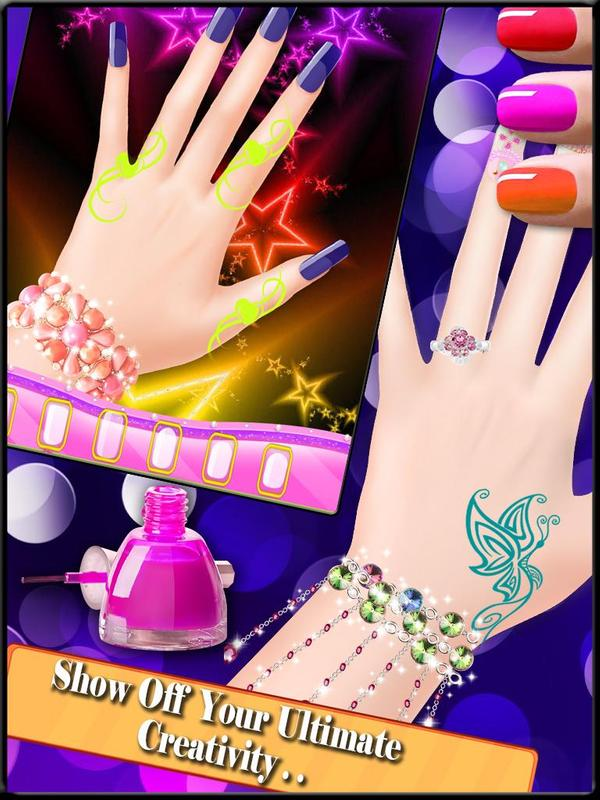 Nail Art Design : Girls Games APK Download - Free Casual GAME for ...