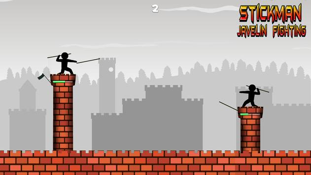 Stickman Javelin Fighting screenshot 1