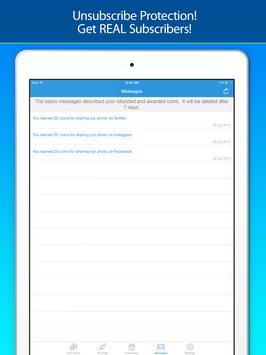 Get Subscribers - for YouTube! apk imagem de tela