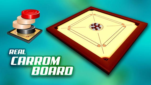 Real Carrom Pro 3D Deluxe : Free Carrom Board Game screenshot 5