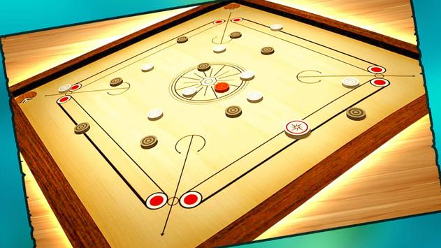 Real Carrom Pro 3D Deluxe : Free Carrom Board Game screenshot 6