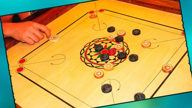 Real Carrom Pro 3D Deluxe : Free Carrom Board Game screenshot 7