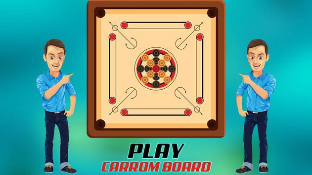 Real Carrom Pro 3D Deluxe : Free Carrom Board Game screenshot 8