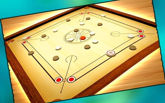 Real Carrom Pro 3D Deluxe : Free Carrom Board Game screenshot 2