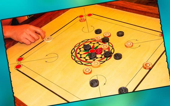 Real Carrom Pro 3D Deluxe : Free Carrom Board Game screenshot 3