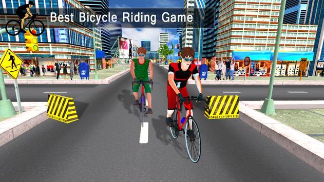 City Cycle Racing Rider screenshot 12