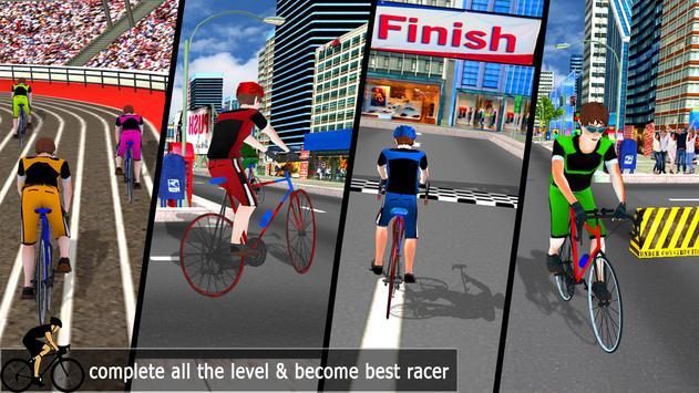 City Cycle Racing Rider screenshot 4