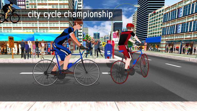 City Cycle Racing Rider screenshot 7