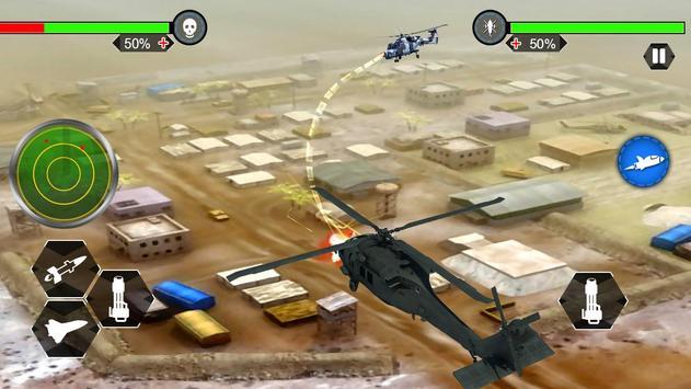 Helicopter War Shooter Gunship poster