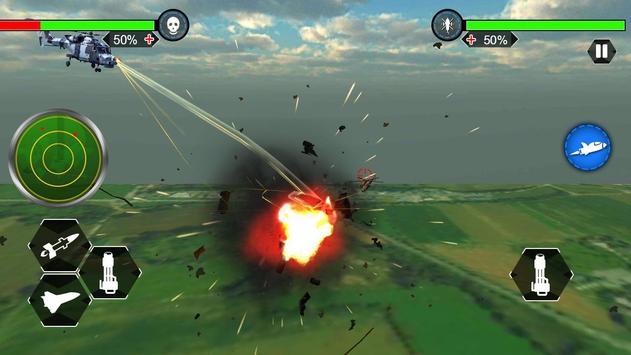Helicopter War Shooter Gunship screenshot 13