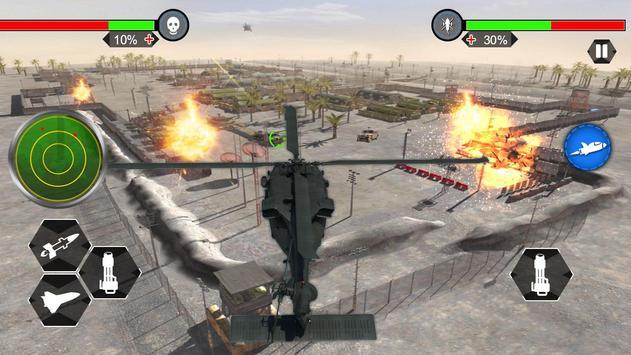 Helicopter War Shooter Gunship screenshot 11
