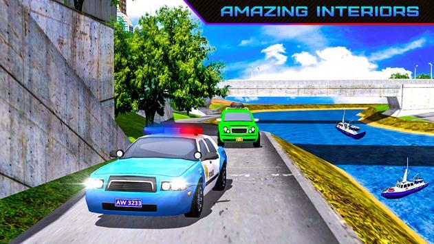Police Car Parking Kings Hard Challenge screenshot 6