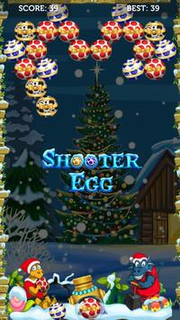 Egg shooter - Merry christmas games screenshot 1