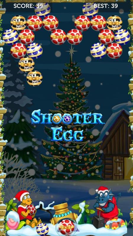 egg shooter merry christmas games 1 - Merry Christmas Games