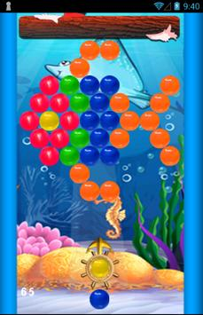Bubble Shooter Ocean Free poster