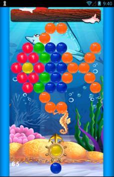 Bubble Shooter Ocean Free screenshot 1