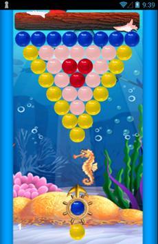 Bubble Shooter Ocean Free screenshot 2