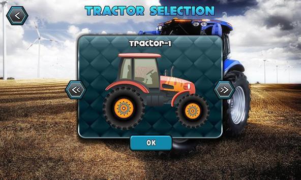 Farm Tractor Hill Driver poster