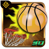 Real Flick Basketball 3D icon