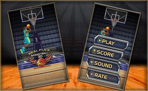 Real Flick Basketball 3D poster