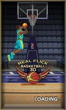 Real Flick Basketball 3D apk screenshot