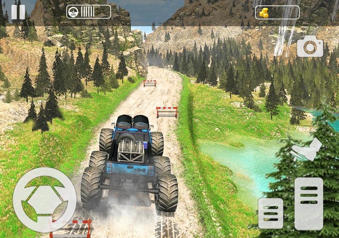 rc monster truck offroad driving simulator mod apk