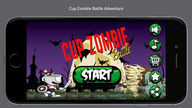 Cup Zombie Battle Adventure poster