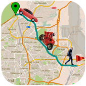 GPS Street View Maps & Driving Route Maker icon