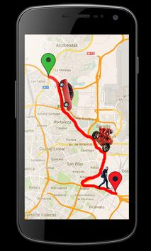 GPS Street View Maps & Driving Route Maker poster