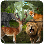 Sniper Wilder Animal Hunting:Africa Forest Hunter icon