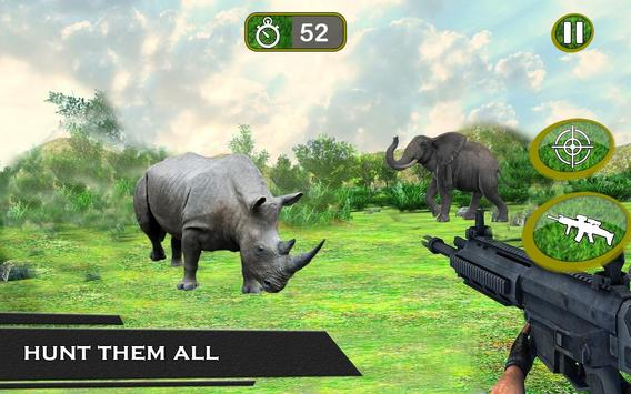 Sniper Wilder Animal Hunting:Africa Forest Hunter apk screenshot