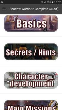 Guide for Shadow Warrior 2 screenshot 6